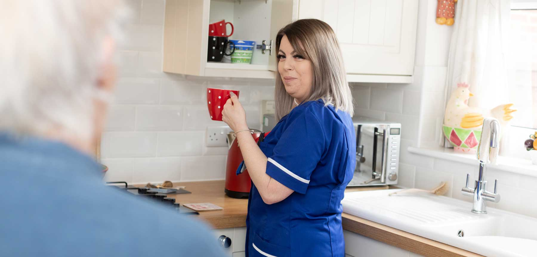 personalised homecare service with St Margaret's