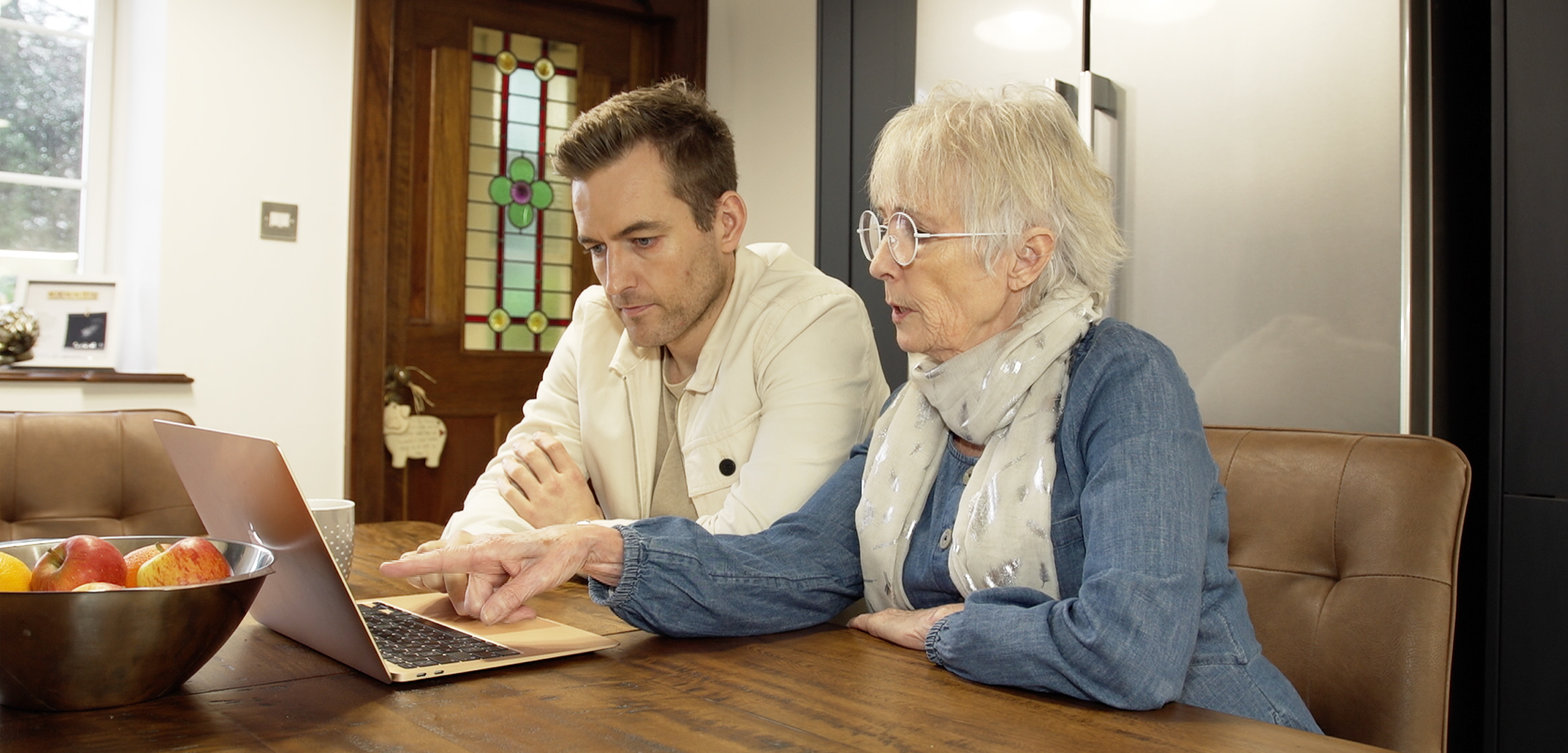 Our Care App Birdie helps you stay in touch with your elderly loved ones